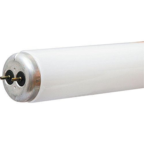 GE 64250 LINEAR FLOURESCENT LIGHT, ECOLUX, 30 WATT, BULB SHAPE T12, 4100 K COOL WHITE, 2200 LUMENS. 6-PACK