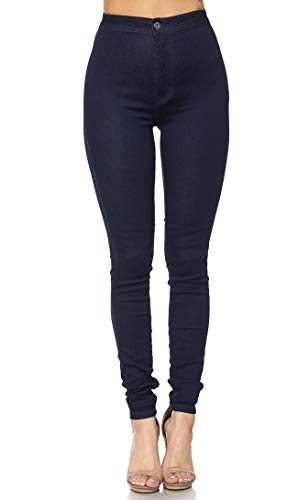 SOHO GLAM Super High Waisted Stretchy Skinny Jeans in 10 Colors (S-XXXL) from SOHO GLAM