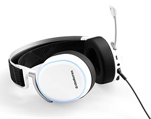 2830fa32775 SteelSeries Arctis Pro + GameDAC Gaming Headset - Certified Hi-Res Audio  System for PS4 and PC - White