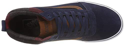 Vans Ward Blue Shoes Hi MTE Dress WFcg8qS