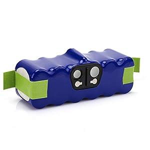 morpilot Batería Xlife de Reemplazo para iRobot Roomba, 14.4V 4050mAh Vida Extendida de 1000 Ciclos Compatible con iRobot Roomba Series 500 600 700 800 31sbokyi69L