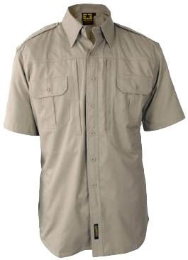 Propper F531150 Tactical Lightweight Short Sleeve Shirt, Khaki, Extra Large