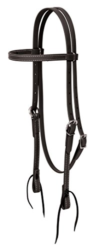 (Weaver Leather Brahma Webb Brow Band Headstall)