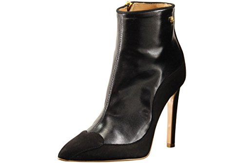 LOVE Moschino Womens Stiletto Bootie Black 2XNbspMA