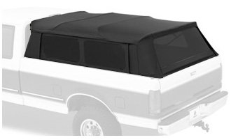 Bestop 76315-35 Black Diamond Supertop for Truck Bed Cover for 1999-2017 Chevy/GMC Silverado/Sierra; 1987-1996 Ford F-150; 1987-1998 Ford F-250/350, 8.0 ft bed (Diamond Chevy Silverado)