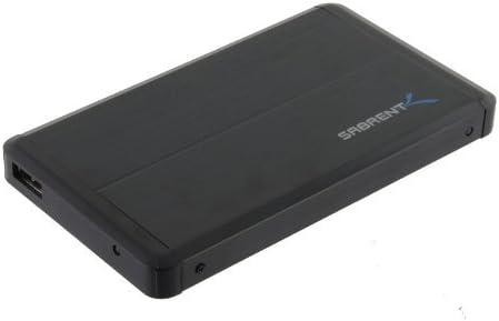 Sabrent 2.5-Inch SATA to USB 2.0 External Hard Drive Enclosure Certified Refurbished EC-UST25