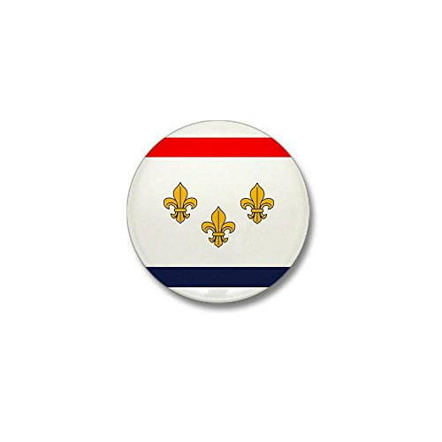 (CafePress Flag of New Orleans Mini Button 1