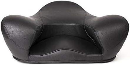 Alexia Meditation Seat Ergonomically Correct for The Human Physiology Zen Yoga Chair Black, Vegan Leather