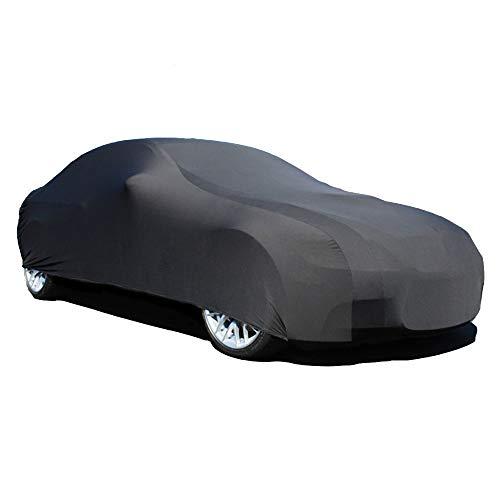 Elastic Indoor Black Satin Car Cover for Aston Martin V12 Vantage 2009-2018