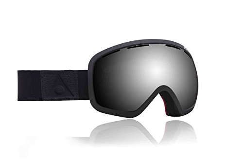 Ashbury Eyewear Bullet Goggle with Free Replacement Lens Blacked Out/Dark Smoke Lens, One - For Blacked Free