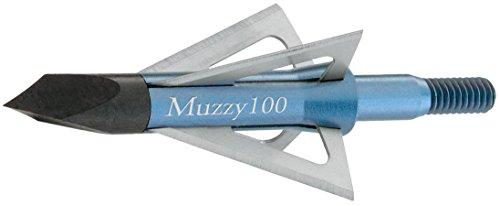 Muzzy 209 Bowhunting 100 Grain, 4 Blade Broadhead, 1