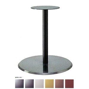 e-kanamono テーブル脚 フラットS7360 ベース360φ パイプ50.8φ 受座280φ ステンレスヘア/塗装パイプ 高さ700mmまで 黒紛体塗装 B012CF4DGM 黒紛体塗装 黒紛体塗装