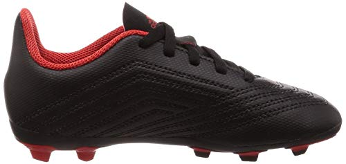 4 Ftwbla Botas J FxG Negro fútbol Negbás Rojo 001 Predator de 18 adidas Unisex Adulto ExwqHSS
