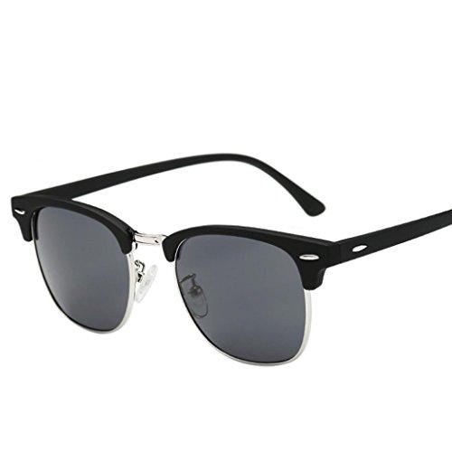 Unisex Polarized Sunglasses, ARINLA Fashion Classic Men Women Square Vintage Mirrored Sunglasses Outdoor Sports Glasses (Black, - Sunglasses Zungle For Sale