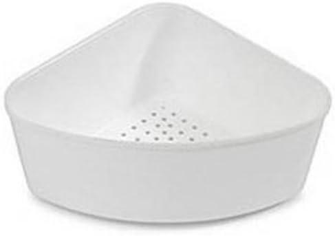 Corner Sink Strainer White Dish Racks