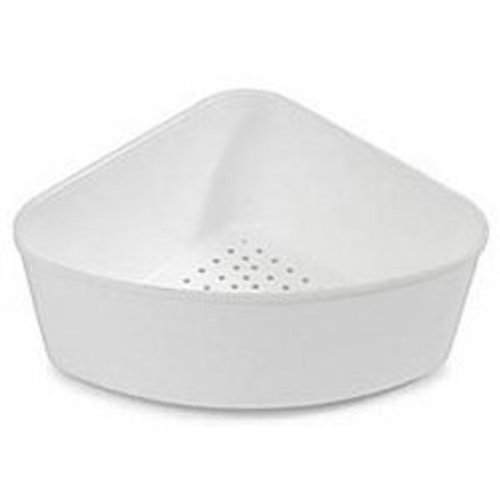 Corner Sink Strainer - White ()