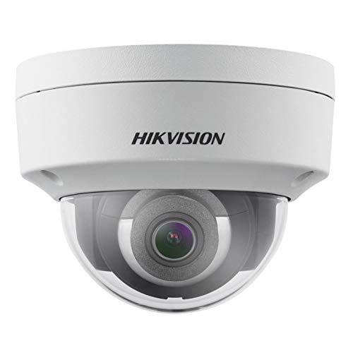 Hikvision DS-2CD2143G0-I New H.265+ 4MP IP Vandal Dome EXIR 4mm Fixed Lens True WDR Network Camera, English Version [Replacement Model for DS-2CD2142FWD-I]