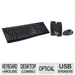 Logitech MKZ260 Wireless Keyboard and Mouse Combo