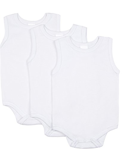 Big Oshi Unisex Baby Sleeveless Bodysuit