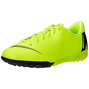 Best Epic Trends 31sc8el17mL._SS300_ Nike Jr. VaporX 12 Academy Turf Soccer Shoes (5.5 M US Big Kid, Volt/Black)