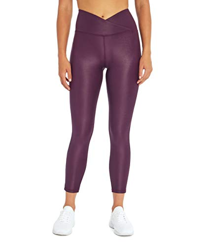 Jessica Simpson Sportswear Everest High Rise Legging, BlackBerry Wine, X-Large