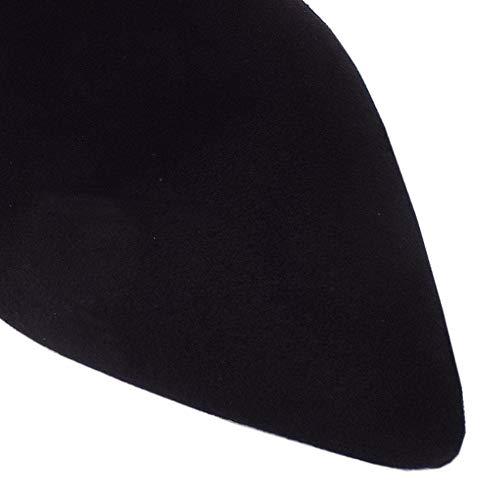 Sued Peter Botte Kaiser Chaussure Daim Ursina Noir En Black rw8raCpqx