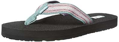 Teva Women's Mush II Flip-Flop (6 B(M) US / 37 EUR, Zoey Teal)