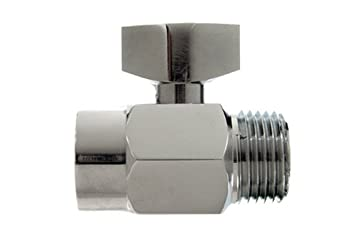 danco shutoff shower valve chrome