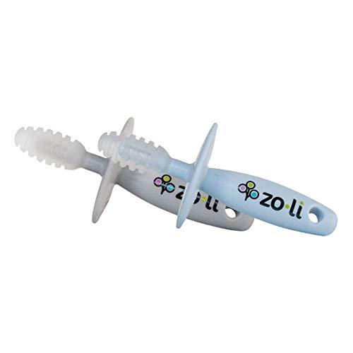 Cheap Zo·Li ZoLi Chubby Gummy teether | 2 Pack Baby Teething Relief - Blue / Grey, BPA Free Teethin...