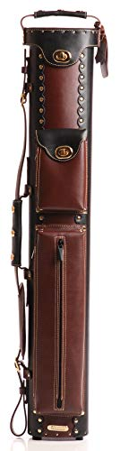 InStroke 2 Butt 4 Shaft Leather Cowboy: Black and Brown ()