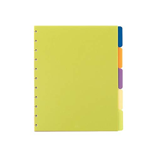 - Staples? Arc Notebook Poly Index Dividers, Letter-Sized, Assorted Colors, Set of 5