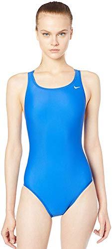 Maiô Performance Fastback One Piece Nike Mulheres G Azul