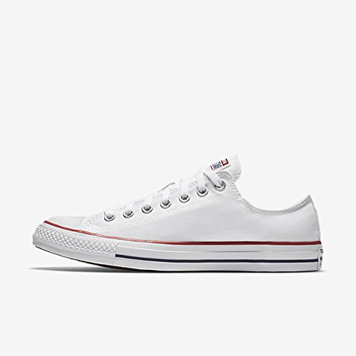 Converse Chuck Taylor All Star Seasonal Colors Ox Unisex (41 M EU / 9.5 B(M) US Women / 7.5 D(M) US Men, Optical White)