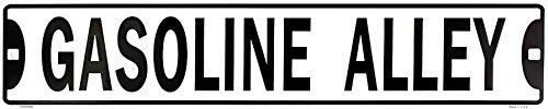 Gasoline Metal Sign - 9