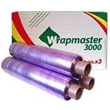 WRAPMASTER 3000 film autocollant est fourni avec boîte for 3 rouleaux