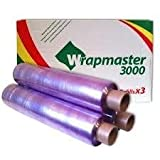 Deli Supplies 12 Rolls Of Wrapmaster 3000 Cling Film Refill Rolls 30cm x 300M Long Great Value by Deli Supplies