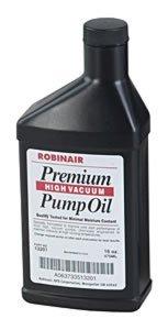 Robinair Premium High Vacuum Pump Oil, Gallon (ROB-13204)