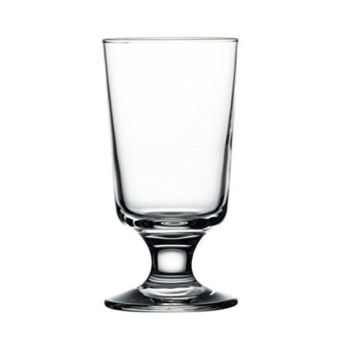 Capri Highball - 5.25H x 2 3/4T x 2 3/4B Capri 8 oz Footed High Ball Glasses, Case of 24