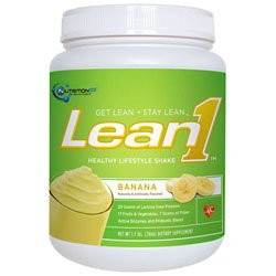 Lean1 Shake Banana Cream 1.70 Pounds
