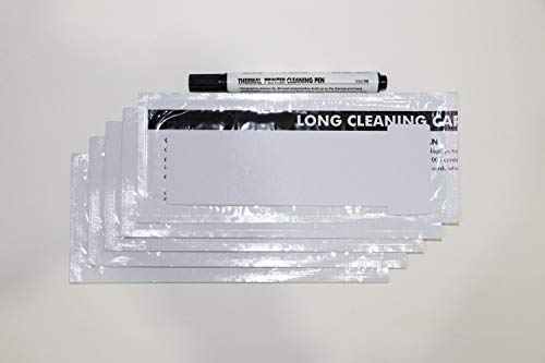CK1 Pronto Cleaning kit, Pack of 5 Cleaning Cards and 1Cleaning Pen.
