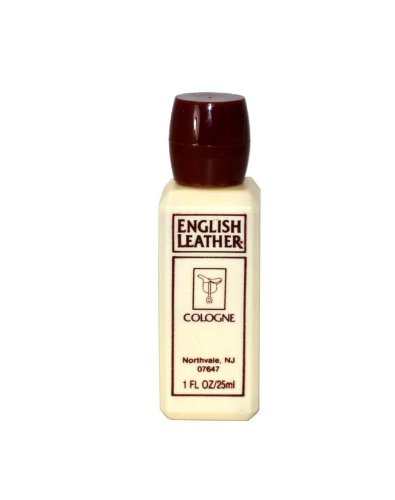 Dana English Leather Cologne for Men (Plastic Travel Size), 1 Ounce (Plastic Cologne Travel)