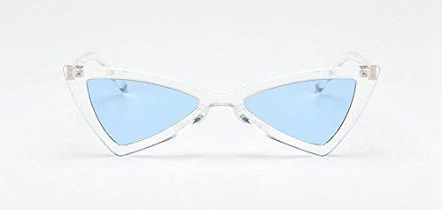 en lunettes cercle Lennon de métallique soleil rond Cadre retro inspirées polarisées du vintage style Transparent pzpwrgq
