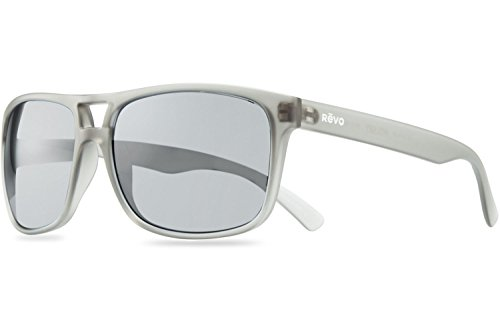 Revo Holsby Style and Performance Polarized Sunglasses, RE1019, Matte Grey Crystal, 58 - 2015 Eyewear Styles
