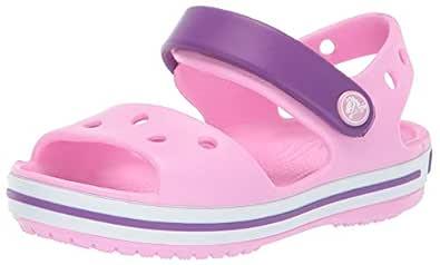 Crocs Unisex Çocuk Crocband Sandal Kids Sandalet 12856,Pembe,19-20