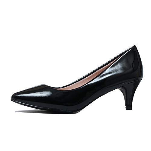Guilty Shoes - Aubree 16-Black-Patent, 10