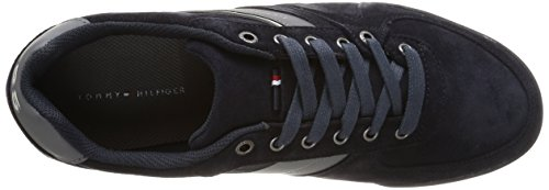 Tommy Hilfiger Riley 2b, Herren Sneakers Blau (260 Twilight)