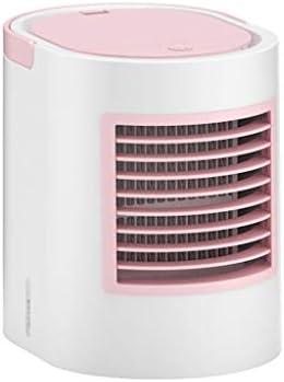 A69Q 卓上扇風機 携帯扇風機 ミニ扇風機 手持ち扇風機 小型 ミニポータブルファン デスクトップエアコン コールドファン 冷却ファン 楕円形 静音 熱中症 暑さ対策 家庭、オフィス、部屋、アウトドア、旅行に適用 (ピンク)
