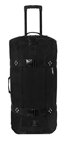 Club Glove Rolling Duffle III Travel Luggage (Black) -