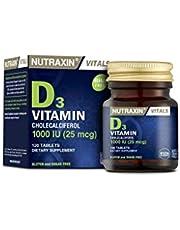 NUTRAXİN NUTRAXIN VİTAMİN D3 1000IU 120 TABLET 1 Paket(1 x 120 Tabletten)
