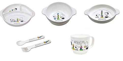 snoopy dish set - 6